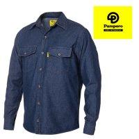 Camisa de jean para ropa de trabajo Pampero talles S/XL