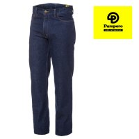 Jean clásico 14 onzas azul indigo Pampero ropa de trabajo talles 48/54