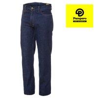 Jean clásico 14 onzas azul indigo Pampero ropa de trabajo talles 56/60