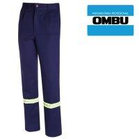 Pantalon Ombú con reflectivos ropa de trabajo talles 38 al 56
